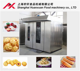 Multifunctional Bakery Rotary Oven Easy Operated With Baltur Gas Burner
