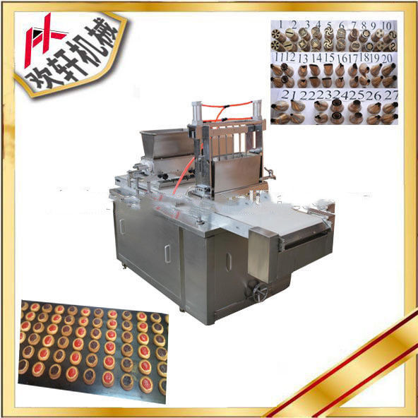 Multipurpose Cookie Depositor Machine With Automatic Filling Jam Function